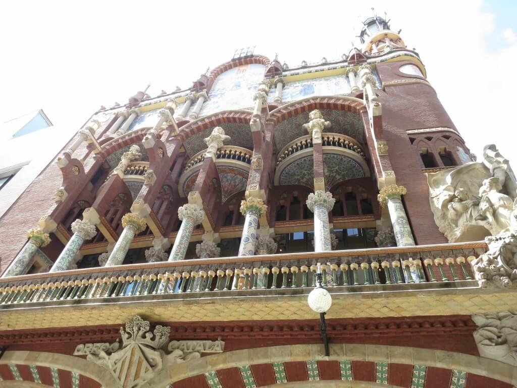 カタルーニャ音楽堂 バルセロナ スペイン 日曜日休み