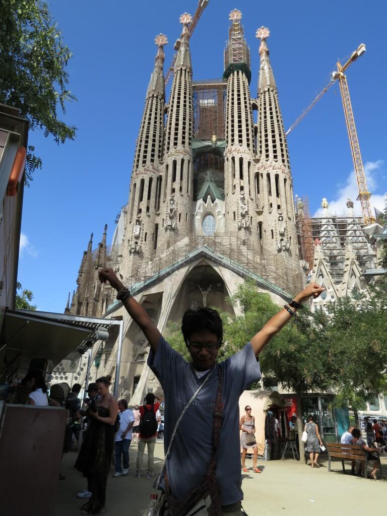 バルセロナ ガウディー作品群 サグラダ・ファミリア聖堂