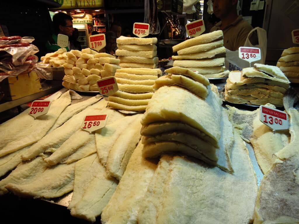 魚卸売り市場 サン・ジョセップ市場 バルセロナ