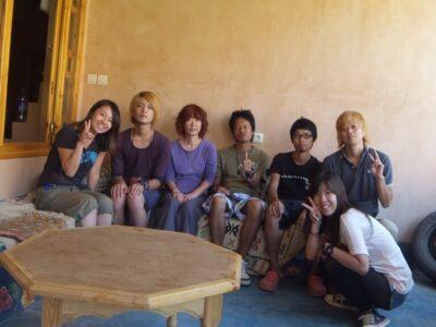 ティネリール トドラ渓谷の日本人宿はのりこさんの宿でまったりと!