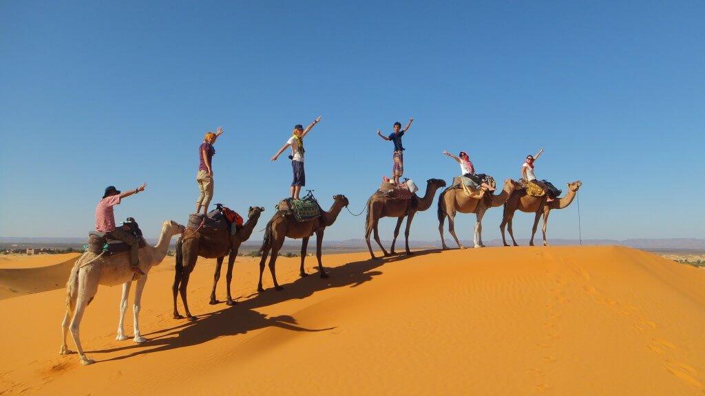 モロッコのサハラ砂漠のツアーを大公開!気温は?大砂丘に満天の星空と天の川は必見ですよ