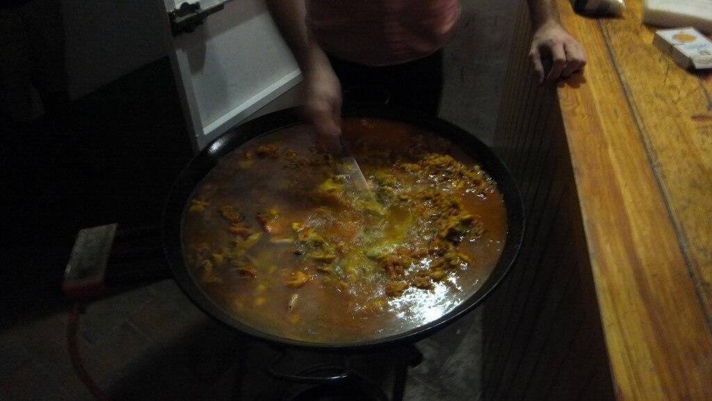 セビリア パエリア お料理教室 スペイン