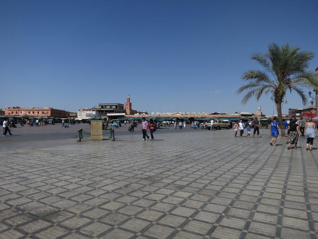 マラケシュ フナ広場 モロッコ