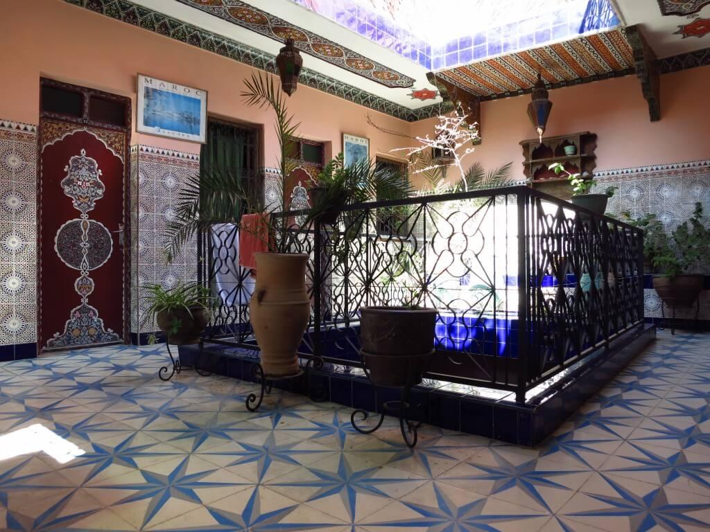 マラケシュの安宿(ゲストハウス/ホテル)情報 Hotel Medina(ホテル メディナ)