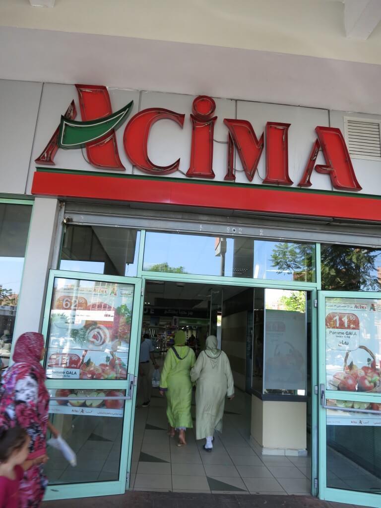 マラケシュ お酒 「A Cima」 モロッコ