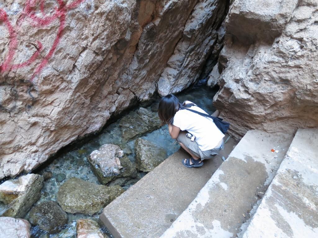幸せになる水 結婚 トドラ渓谷 モロッコ
