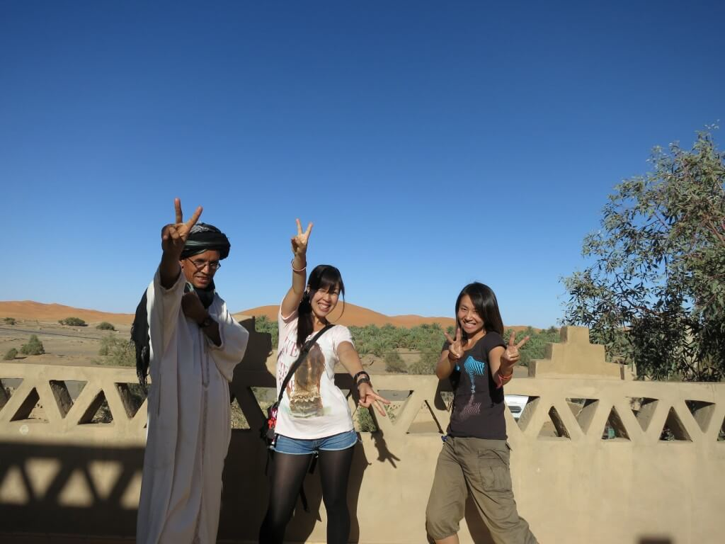 サハラ砂漠ツアー拠点の街 メルズーガ!サハラ砂漠の大砂丘ツアーへ!!
