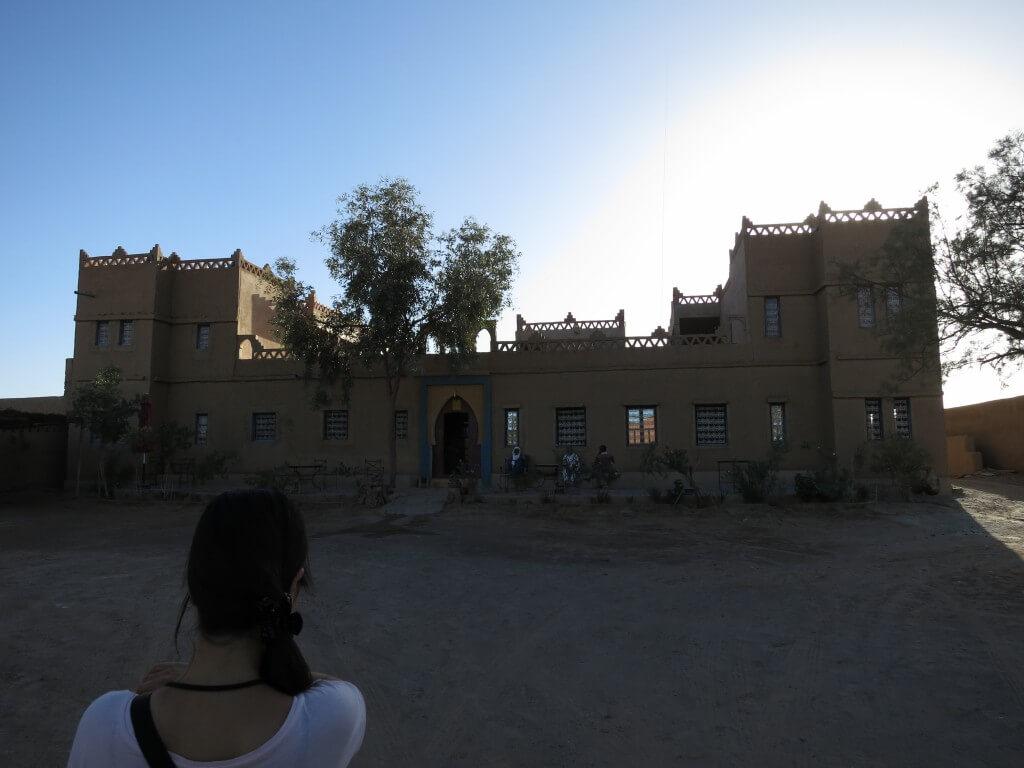 Hotel Oasis ホテルオアシス メルズーガ 宿 モロッコ
