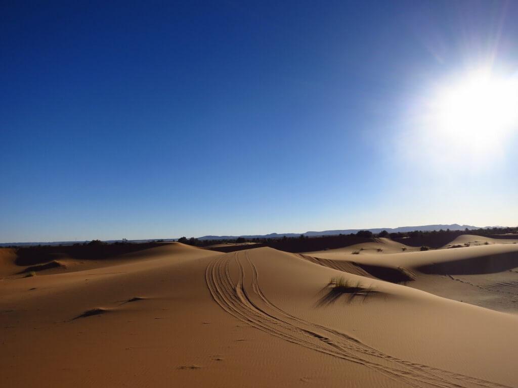 モロッコのメルズーガから行くサハラ砂漠ツアー