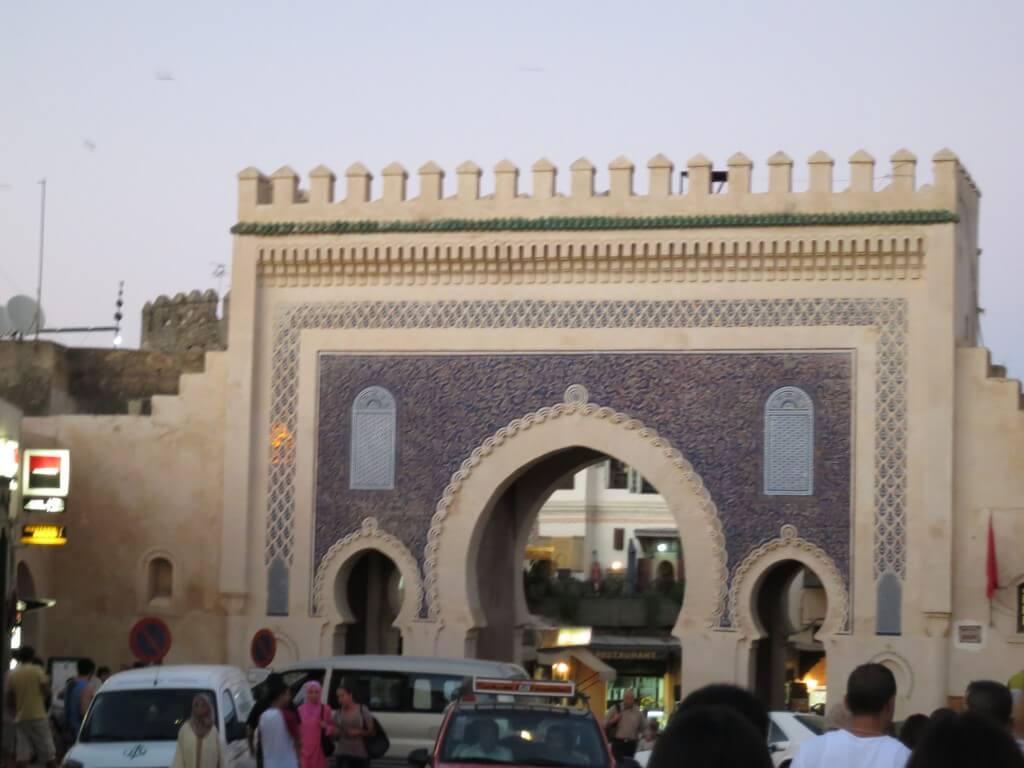 フェズ メディナの門 モロッコ