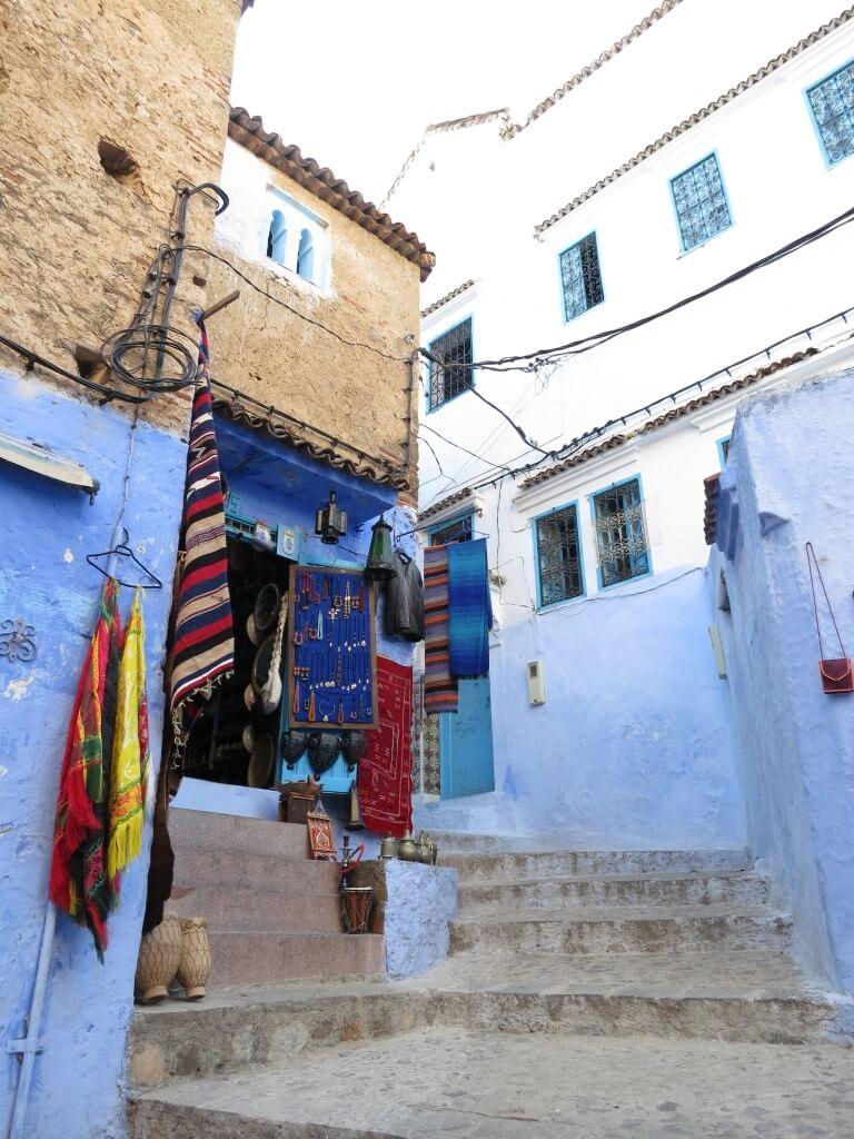 シャウエン ブルーシティー メディナ モロッコ