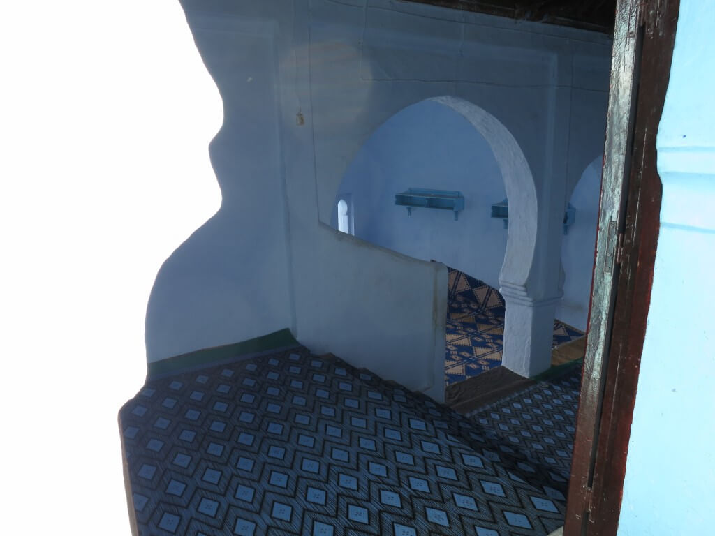 シャウエン モスク 青い モロッコ
