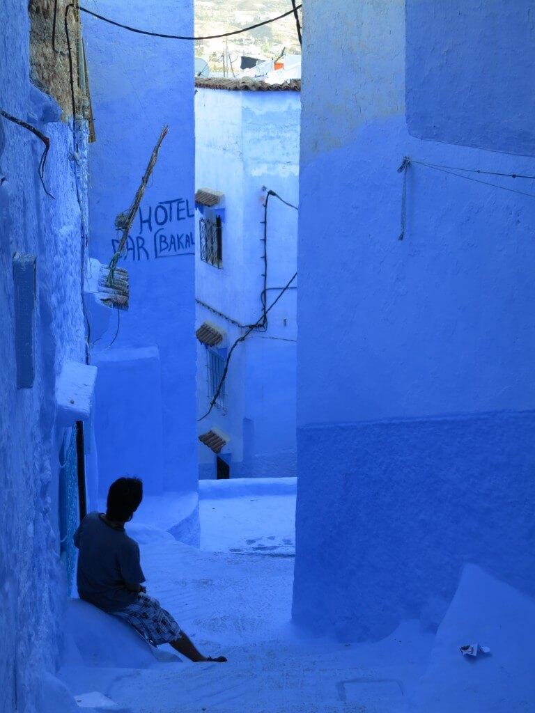 シャウエン マクゼン広場 ブルーシティー 青い街 モロッコ