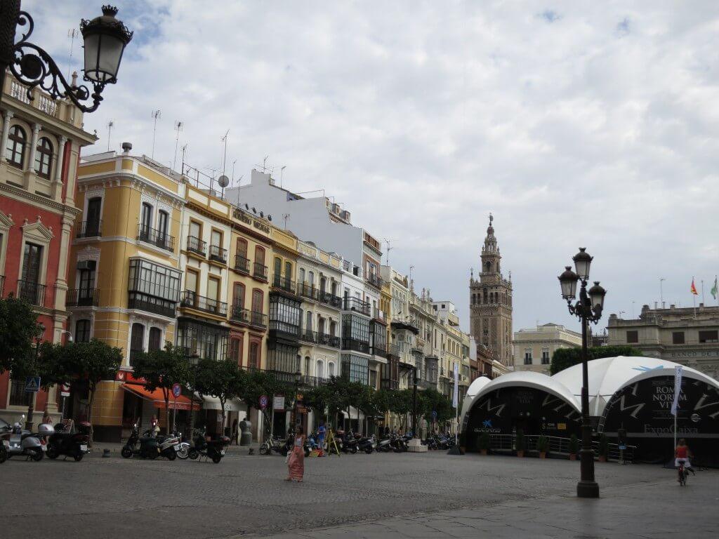 セビリア スペイン 街並み 観光