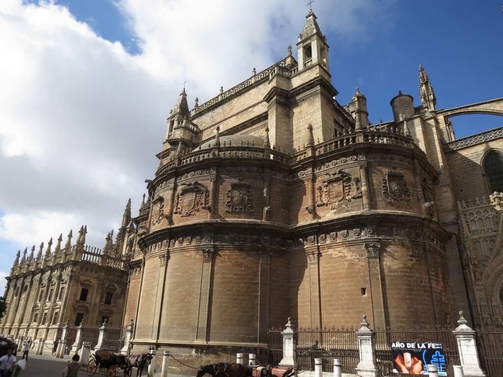 セビーリャ カテドラル セビリア大聖堂 世界3番目 コロンブスの墓