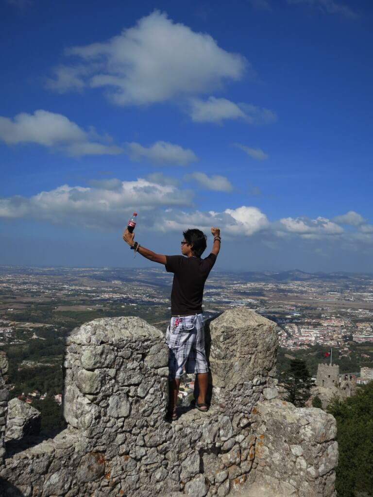 シントラ ムーアの城壁 絶景 ポルトガル