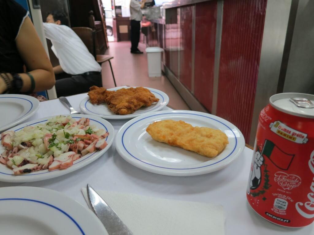 今日のコーラ 最後のスペインの晩餐