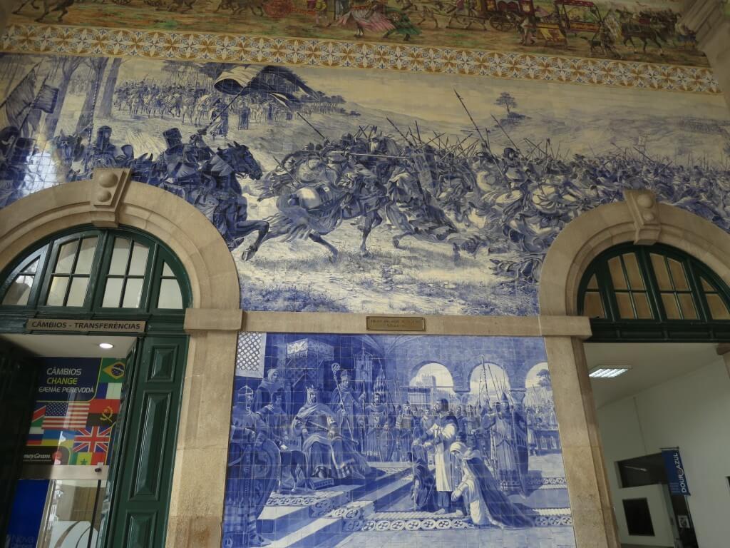 ポルト 駅 絵がすごい ポルトガル