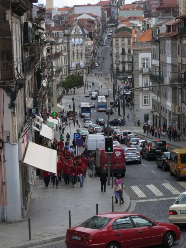 ポルト 坂が多い 起伏が激しい ポルトガル