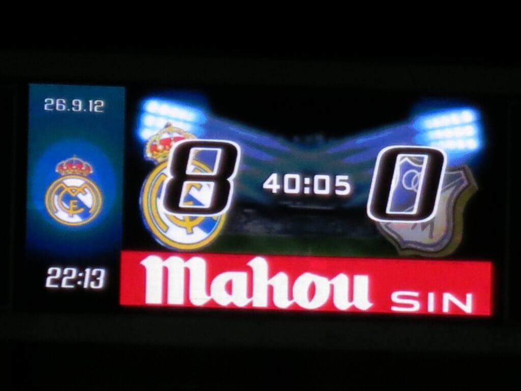 レアル・マドリード サンティアゴ・ベルナベウ杯 スペイン