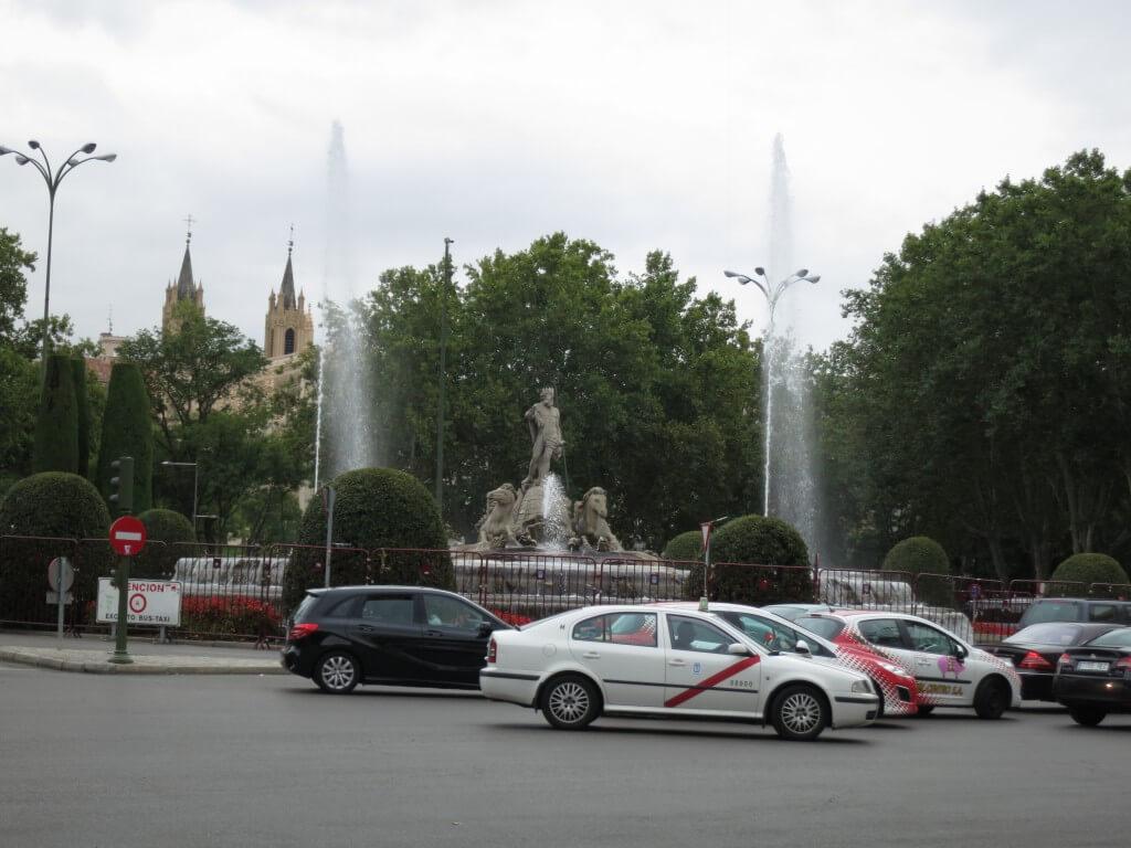 世界一周の旅3度目のスペイン入国 やっと首都マドリード観光