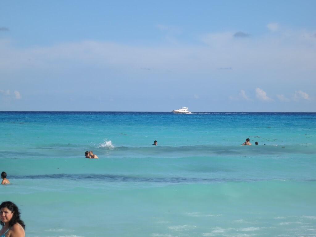 カンクン カリブ海 青い海 メキシコ