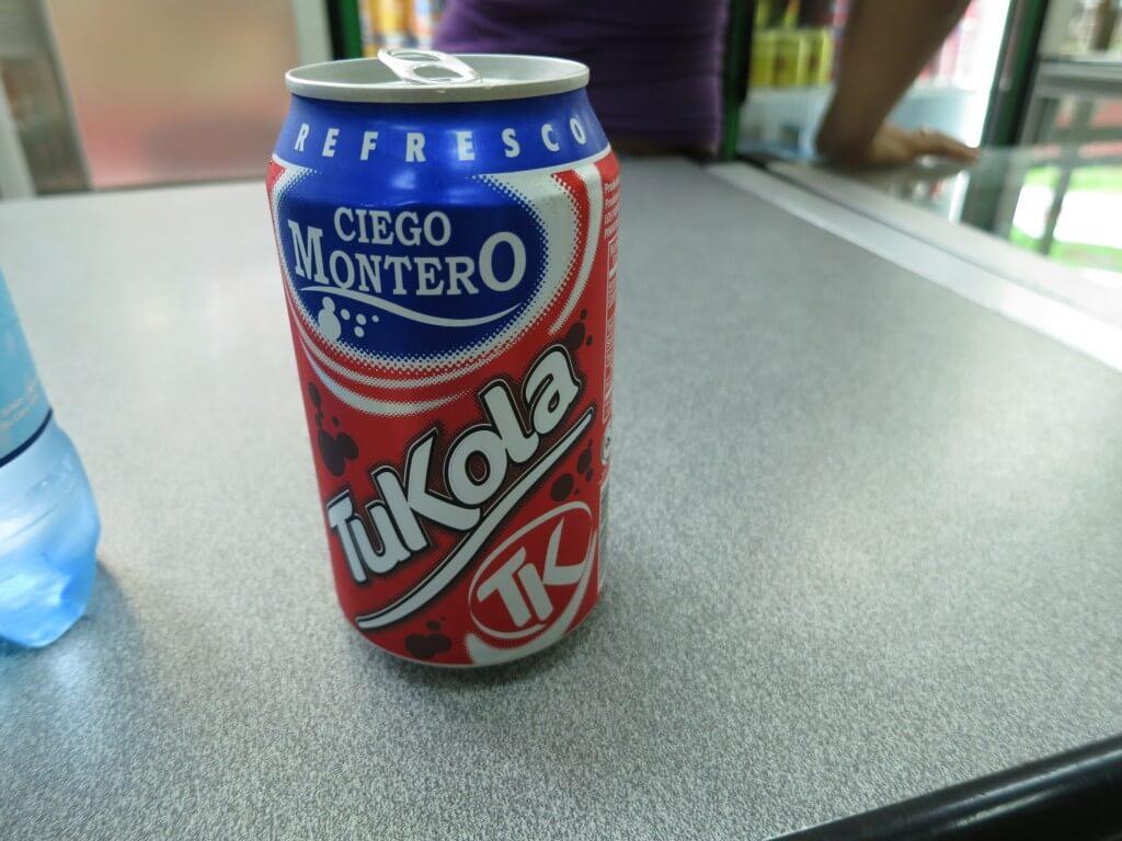今日のコーラ キューバの地元コーラTuKola