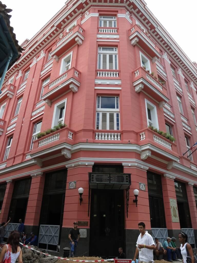 ヘミングウェイが滞在した Hotel Ambos Mundos(ホテル・アンボス・ムンドス)