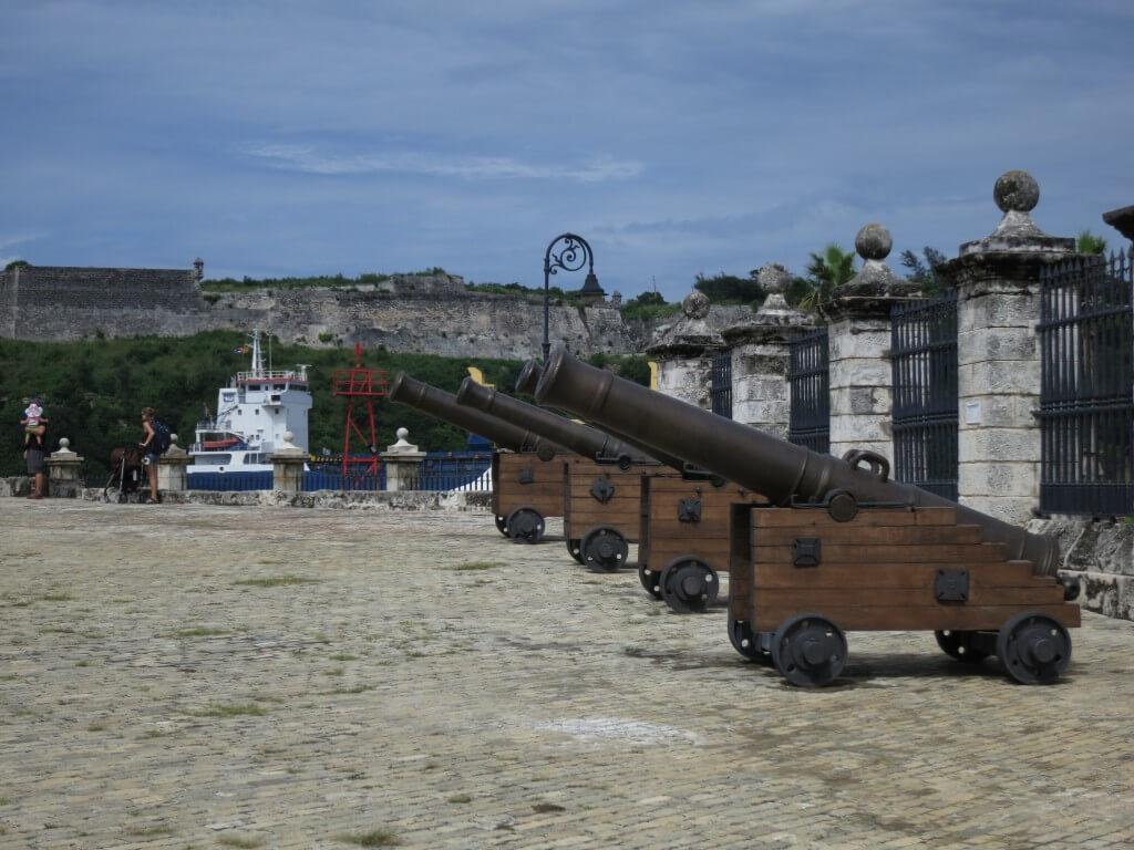 フエルサ要塞 ハバナ キューバ