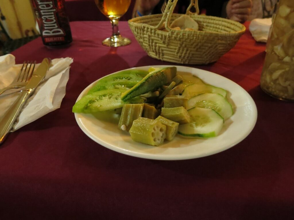 La Ceiba ランゴスター コース料理 トリニダ