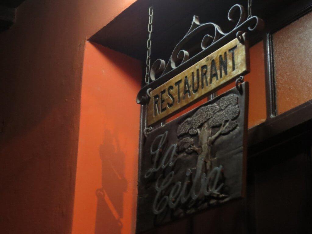 まずはトリニダで有名レストラン「La Ceiba」でランゴスター(ロブスター)を!