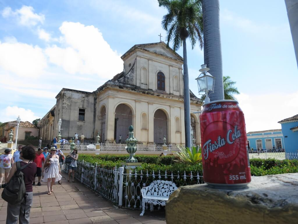 今日のコーラ キューバはコカコーラが少ない