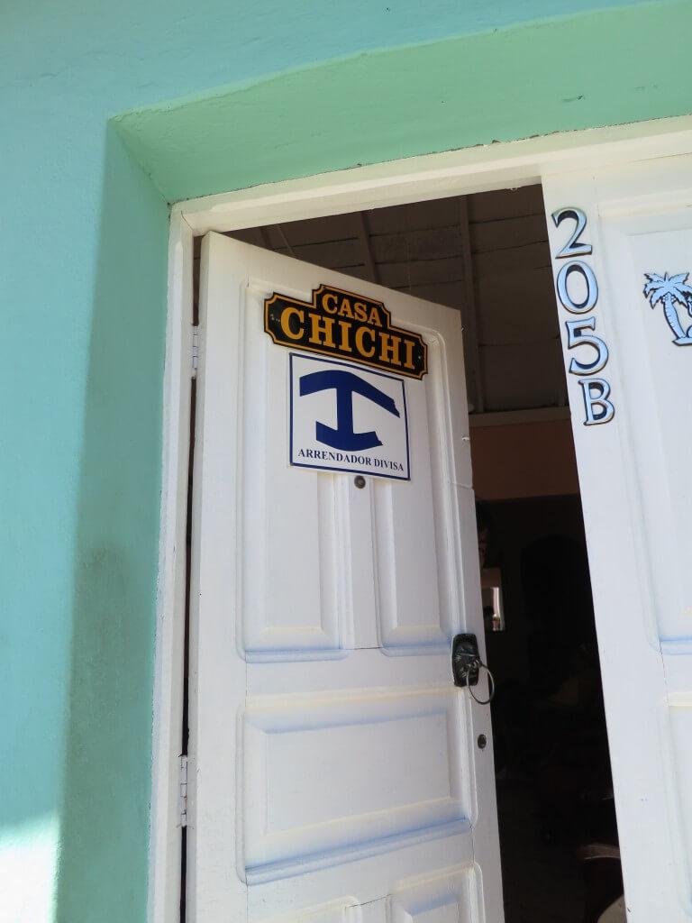 青い錨マーク キューバの安宿、ゲストハウス、ホテル事情