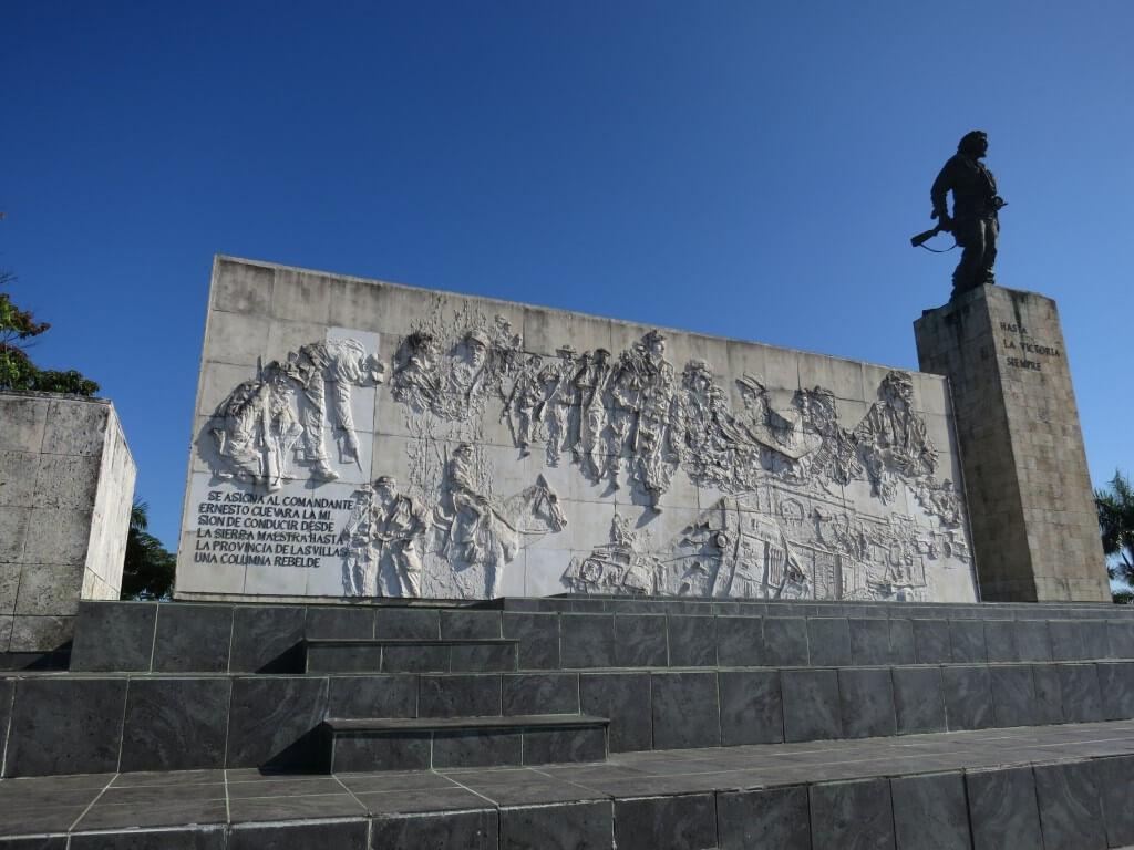 ハバナに帰る前にサンタ・クララ観光 チェ・ゲバラが眠る霊廟へ!