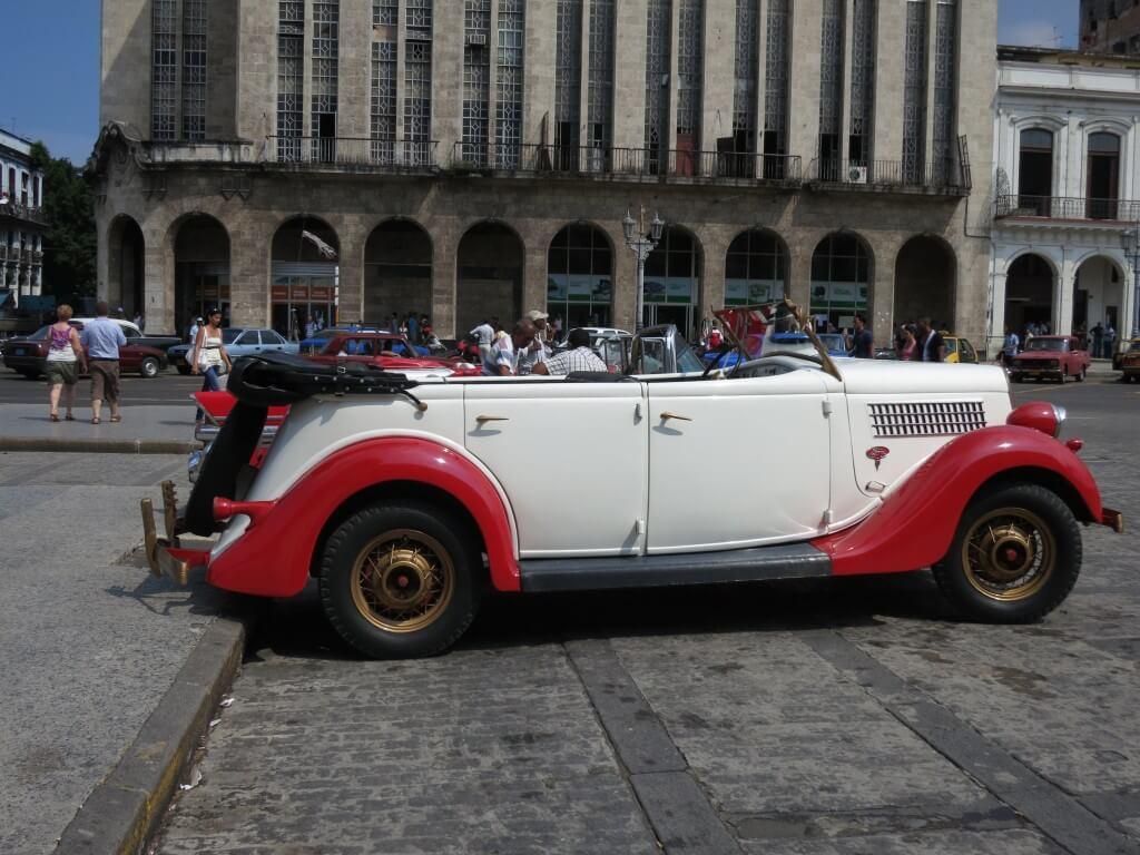 オールドカー キューバ ハバナ