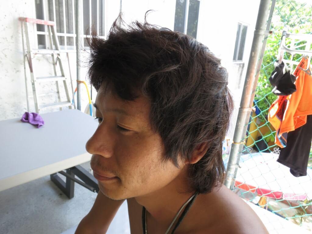 メキシコのカンクンで久々の世界一周バックパッカー髪の毛カットに挑戦!
