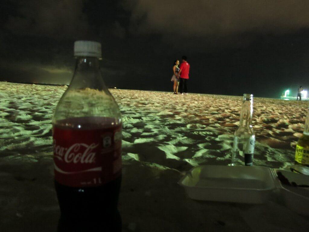 今日のコーラ メキシコのラブラブカップル