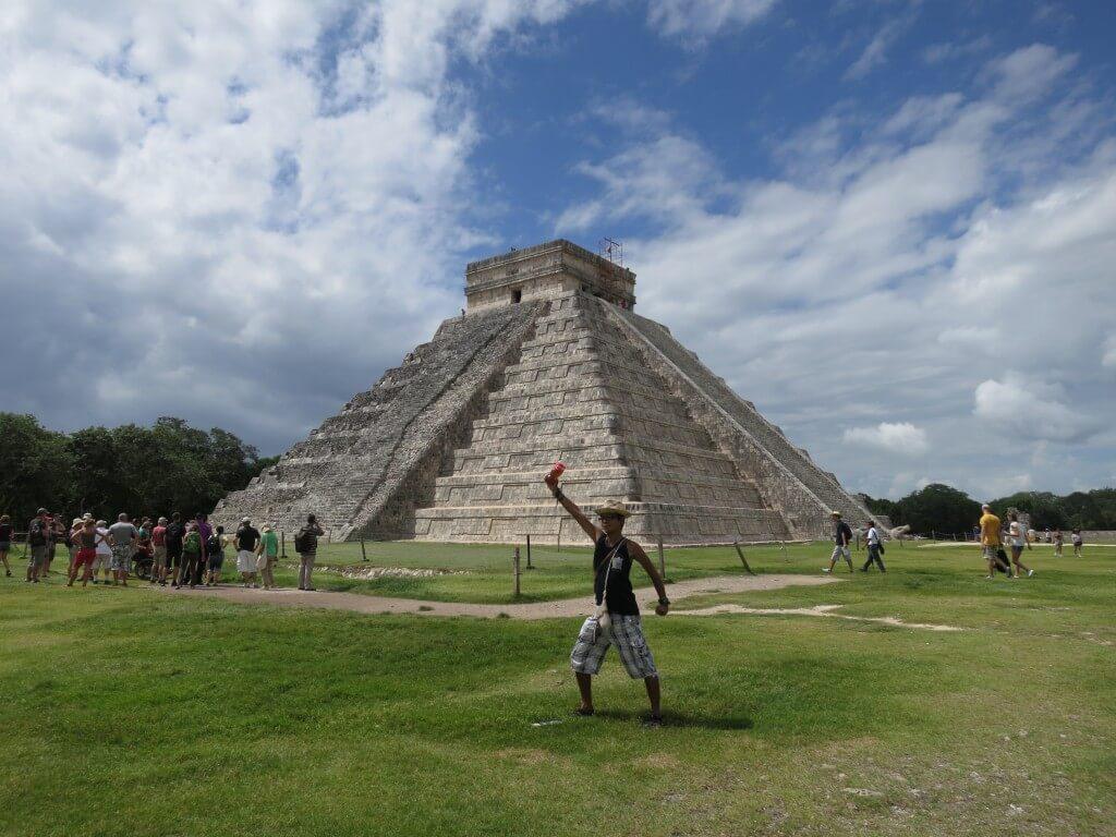高度なマヤ文明の結晶のチチェン・イッツァ遺跡 必見です!