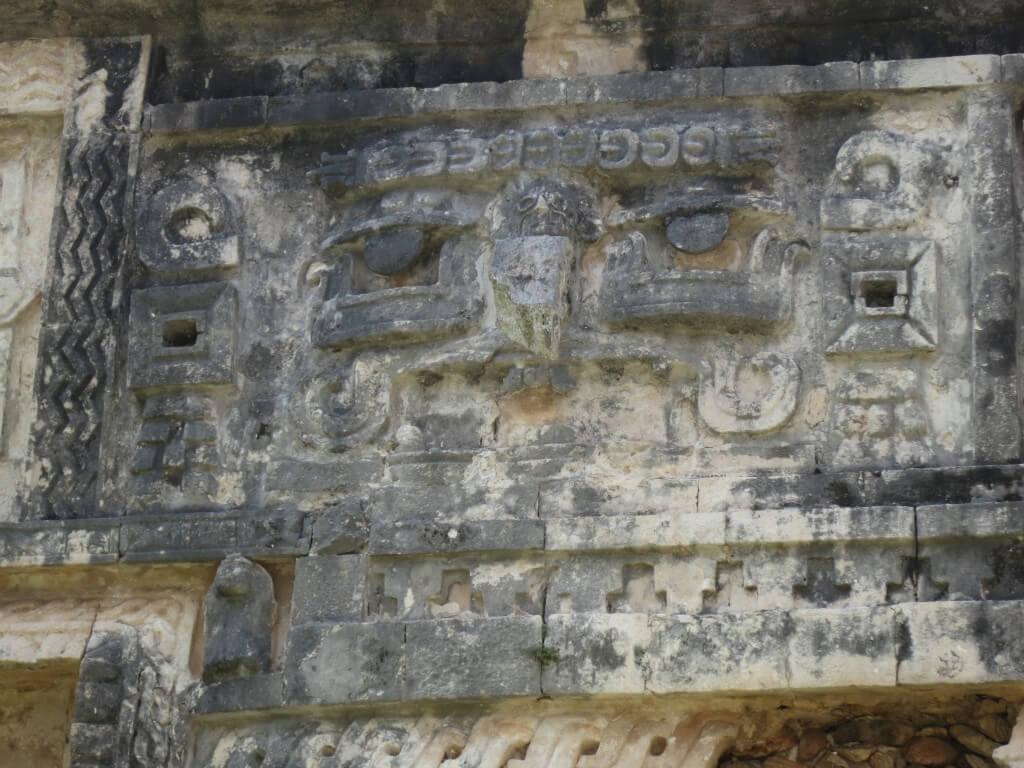 チャック像 「旧チチェン・イッツァ」 尼僧院
