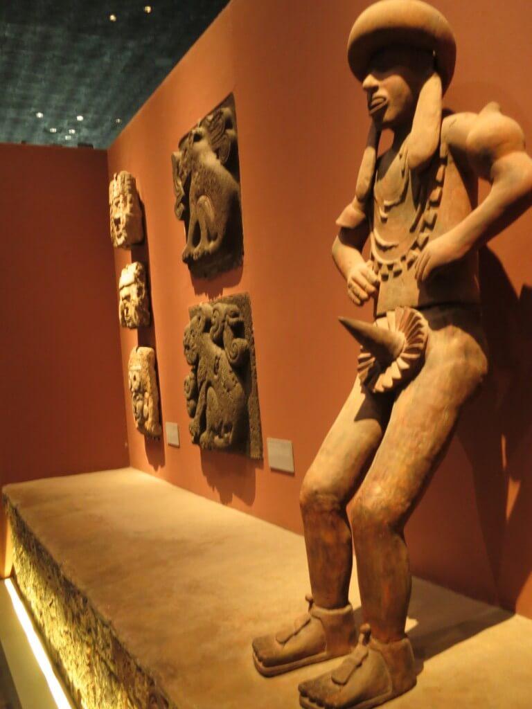 アステカ文明の部屋 メキシコ国立人類学博物館