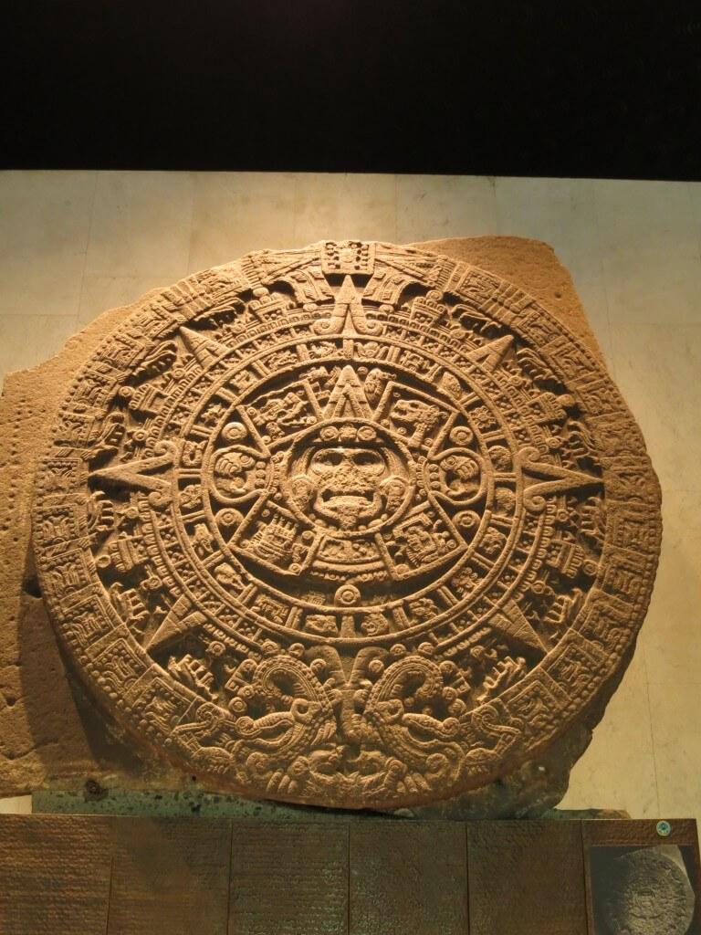 「メキシコ国立人類学博物館」で文明について学んだ日