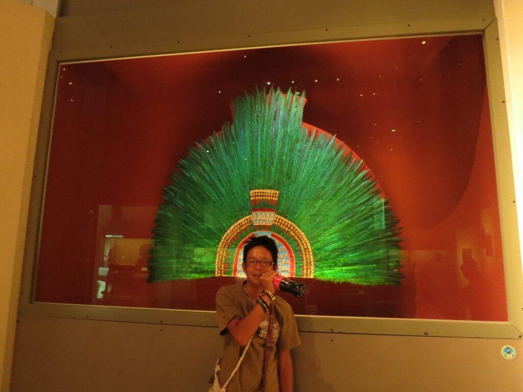 今日のコーラ メキシコ国立人類学博物館で