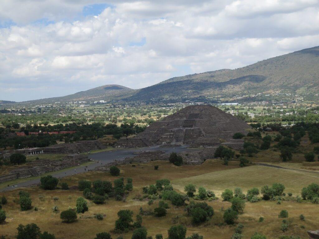 テオティワカン遺跡 メキシコ