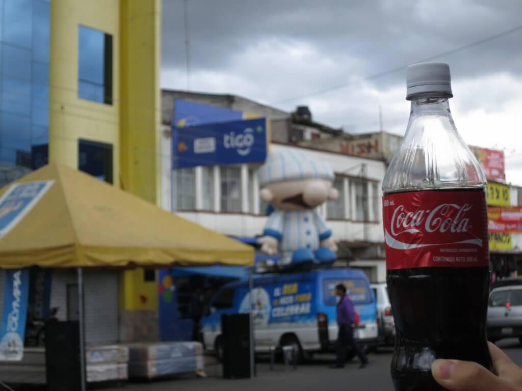 今日のコーラ シェラの街並みと