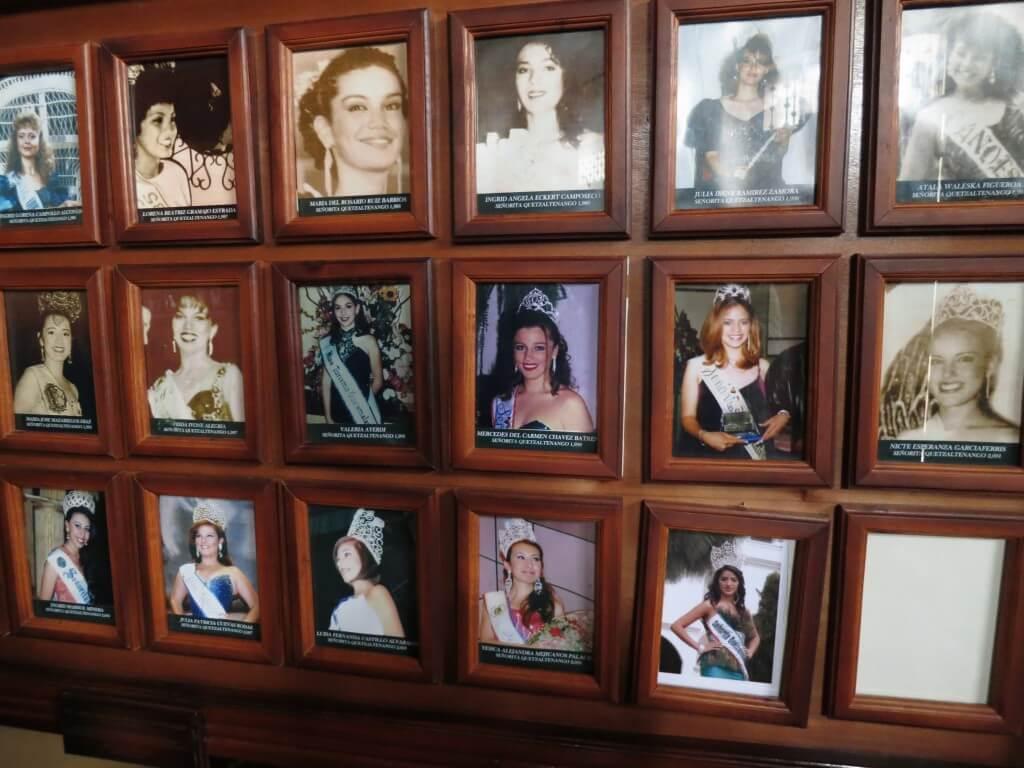 シェラ テアトル(劇場) 歴代のミスコン 写真 美女 グアテマラ