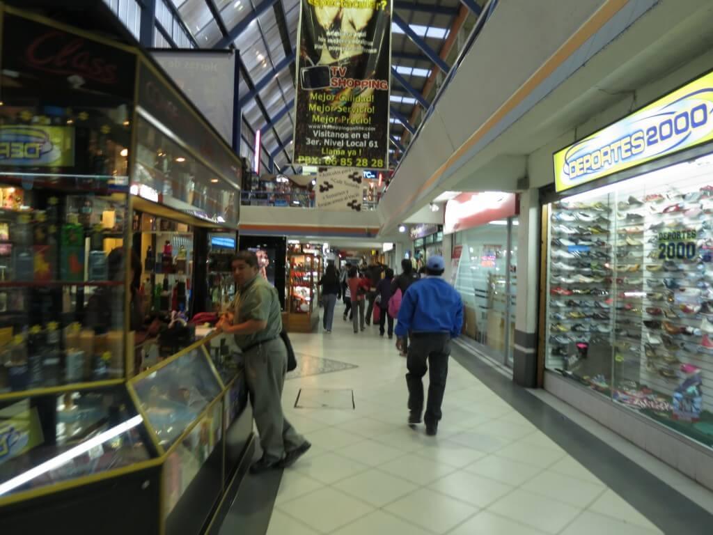 モンブラン シェラにもショッピングモールはありますよ!スーパーもね♪