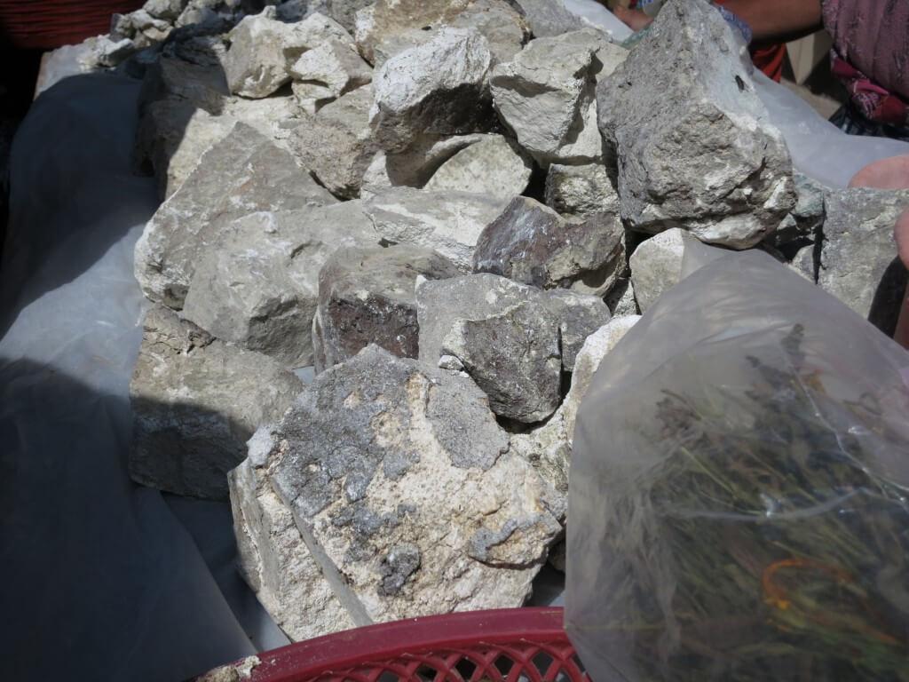 サン・フランシスコ村 メルカド 化石 グアテマラ