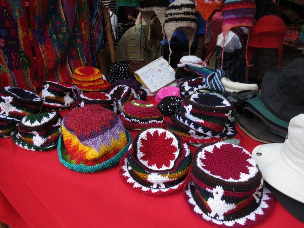 チチカステナンゴ 市 お土産 グアテマラ 帽子