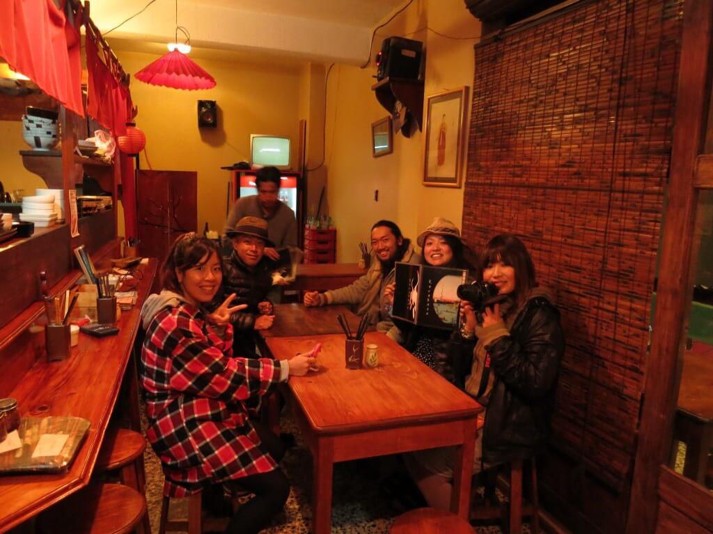 シェラの日本食「からかさ」に入れば、そこは・・・ラーメン屋?