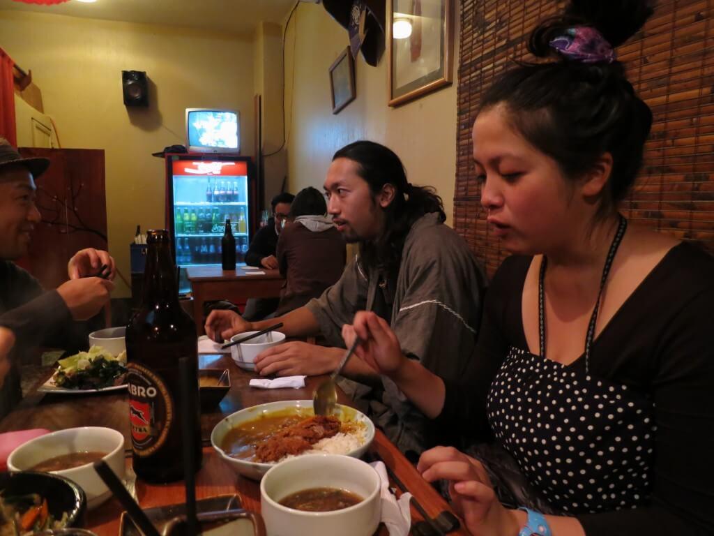 世界一周、旅人の求める日本食、温泉がある街 ケツァルテナンゴ(シェラ)